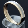 9k Gold Ring (Wide) Size Q - W image 1