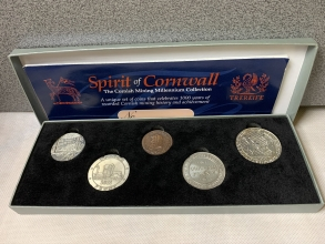 The Cornish Mining Coin Collection