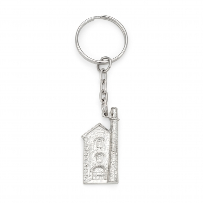 Cornish Engine House Keyring