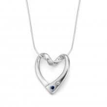 Eternity Heart Pendant