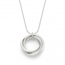 Elowen Three Rings Pendant